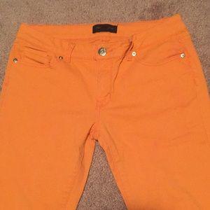 Orange Skinny's Jeans Size 11